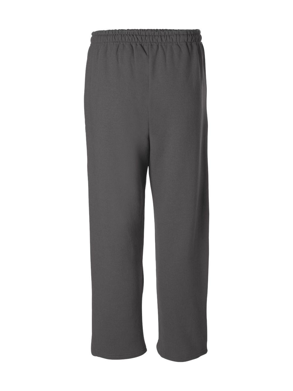 Gildan-Heavy-Blend-Open-Bottom-Sweatpants-18400 thumbnail 10