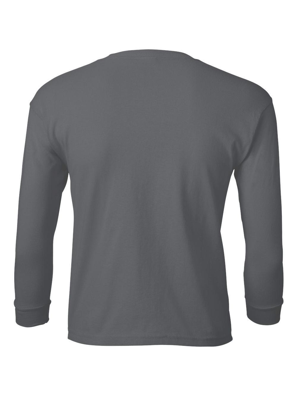 Gildan-Ultra-Cotton-Youth-Long-Sleeve-T-Shirt-2400B thumbnail 10