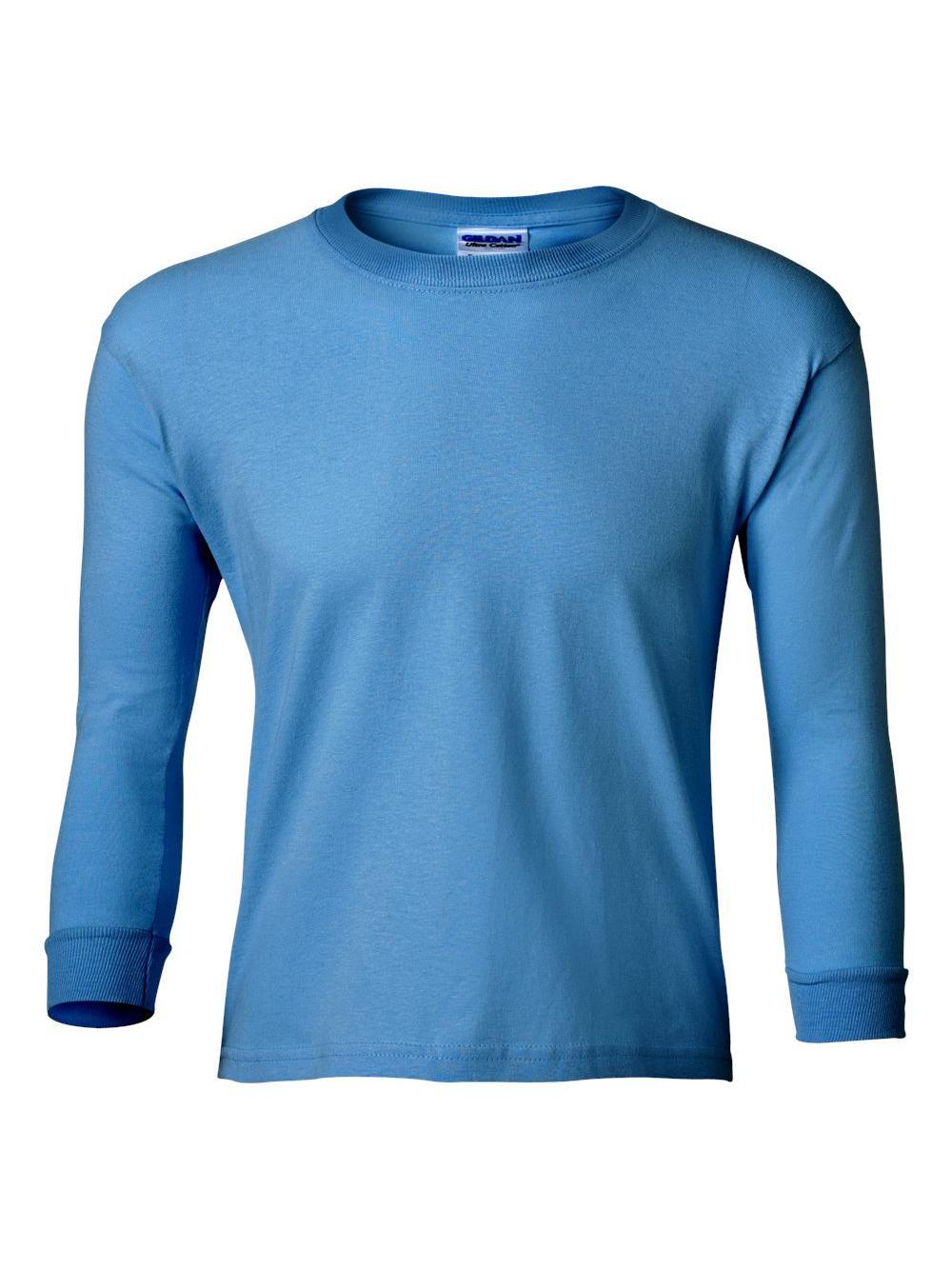 Gildan-Ultra-Cotton-Youth-Long-Sleeve-T-Shirt-2400B thumbnail 39
