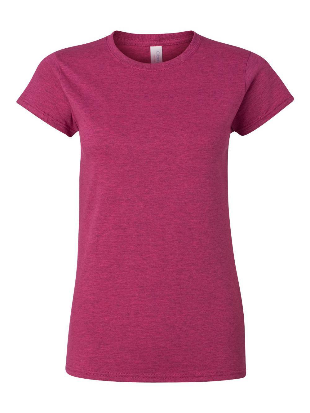 Gildan-Softstyle-Women-039-s-T-Shirt-64000L thumbnail 3