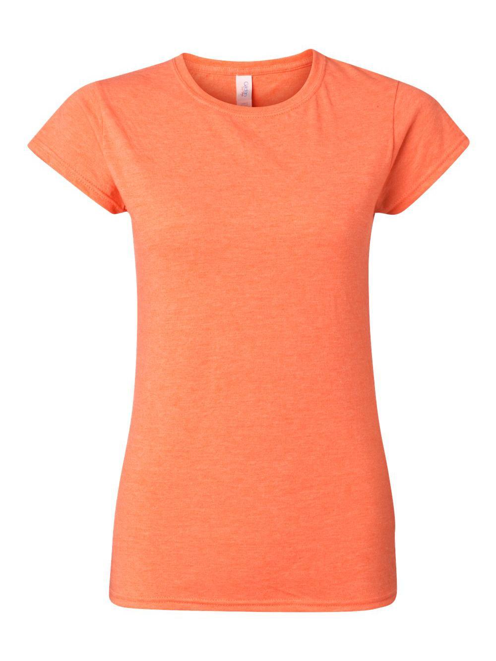 Gildan-Softstyle-Women-039-s-T-Shirt-64000L thumbnail 21