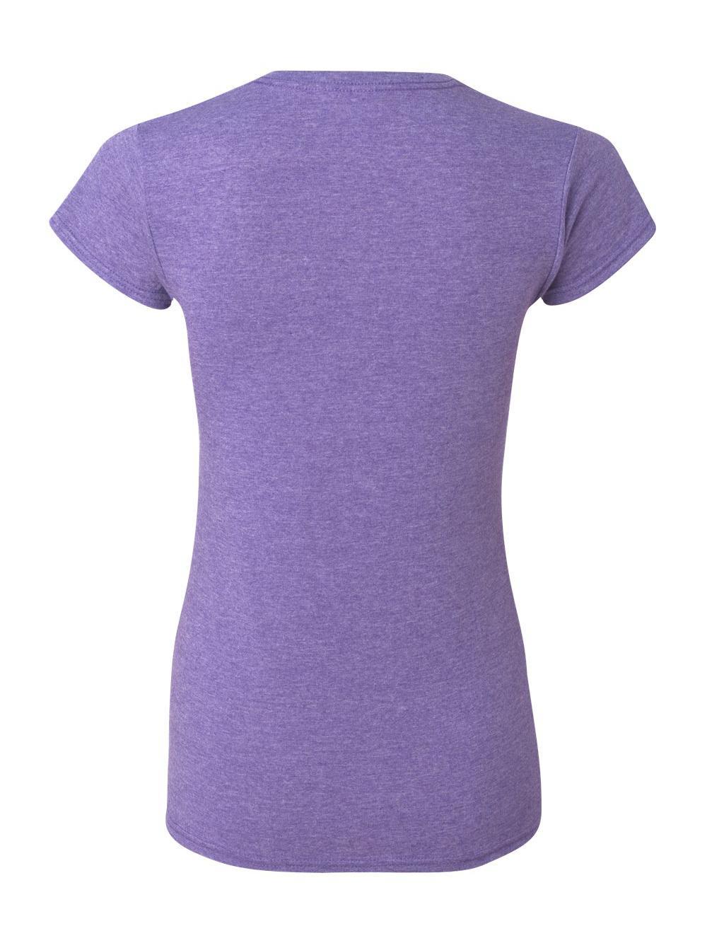 Gildan-Softstyle-Women-039-s-T-Shirt-64000L thumbnail 25
