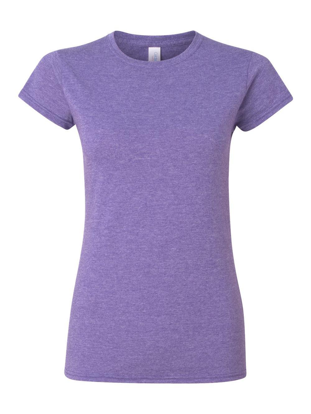 Gildan-Softstyle-Women-039-s-T-Shirt-64000L thumbnail 24