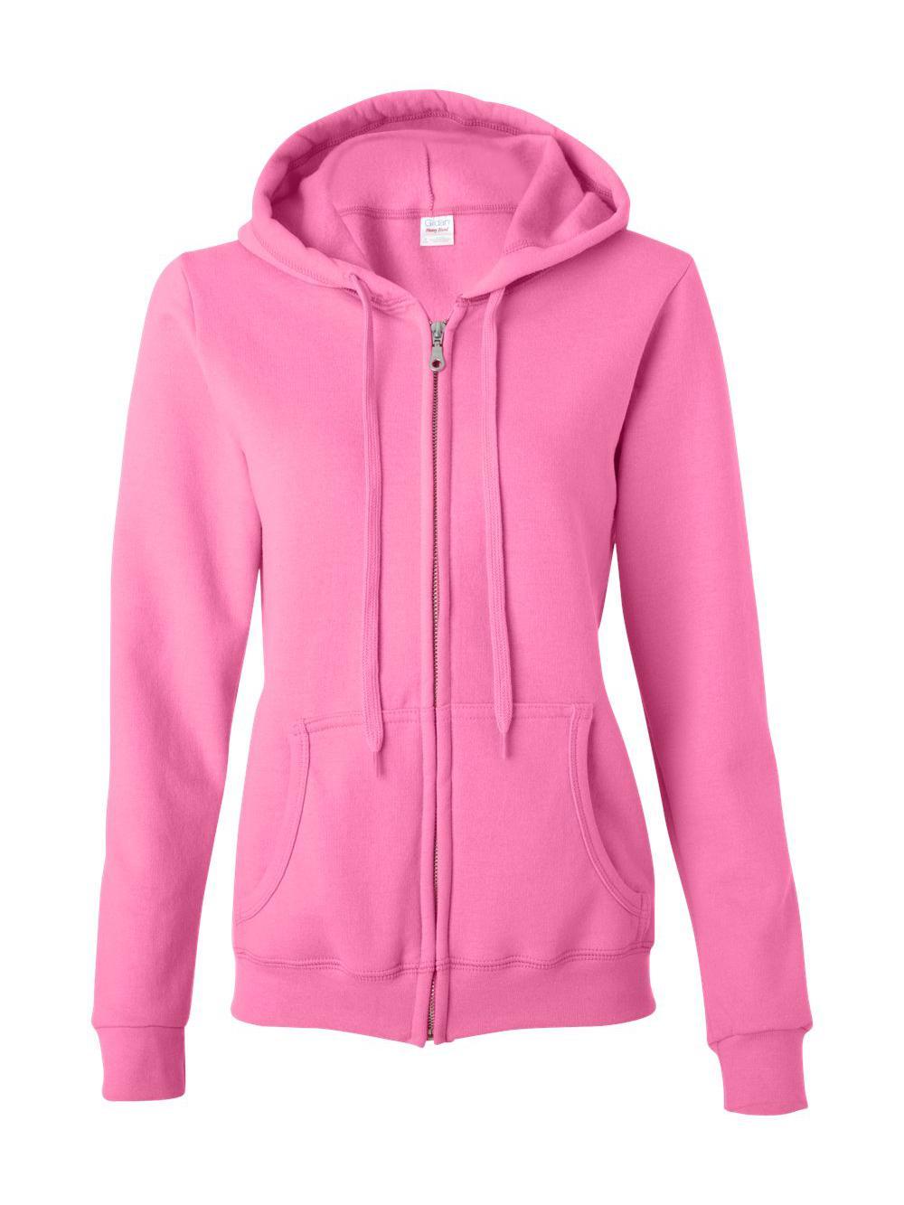 Gildan-Heavy-Blend-Women-039-s-Full-Zip-Hooded-Sweatshirt-18600FL thumbnail 3
