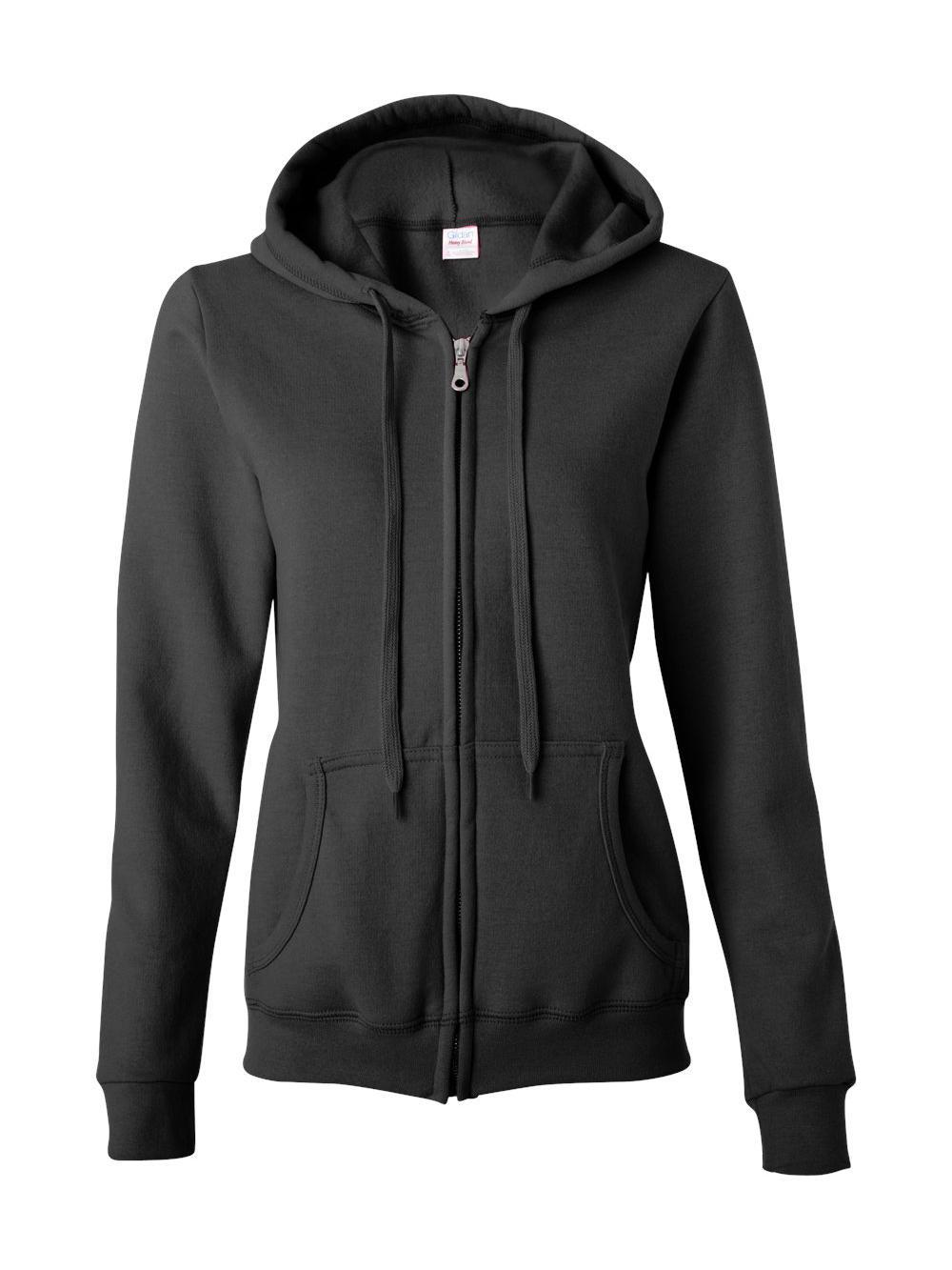 Gildan-Heavy-Blend-Women-039-s-Full-Zip-Hooded-Sweatshirt-18600FL thumbnail 6