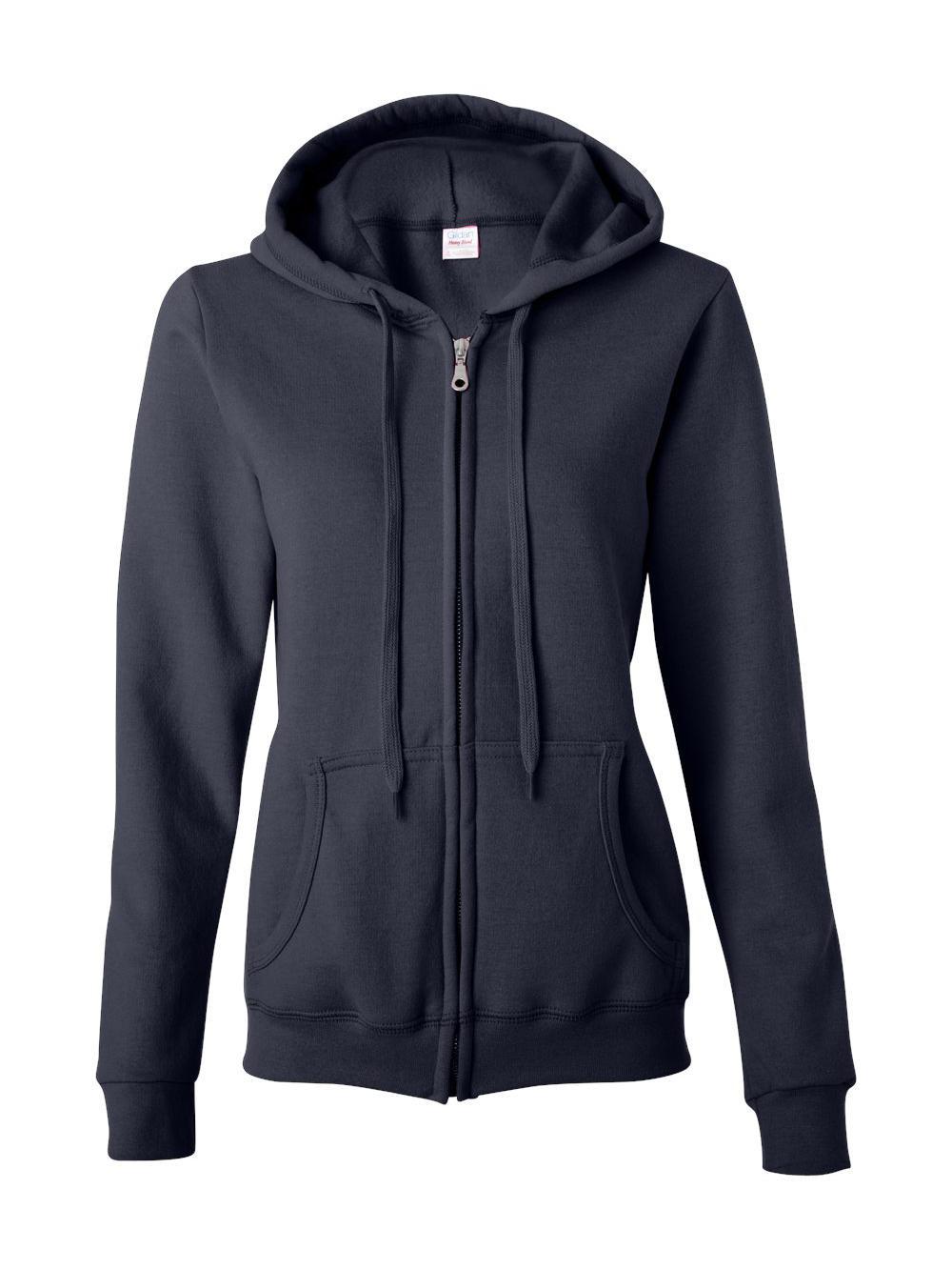 Gildan-Heavy-Blend-Women-039-s-Full-Zip-Hooded-Sweatshirt-18600FL thumbnail 9