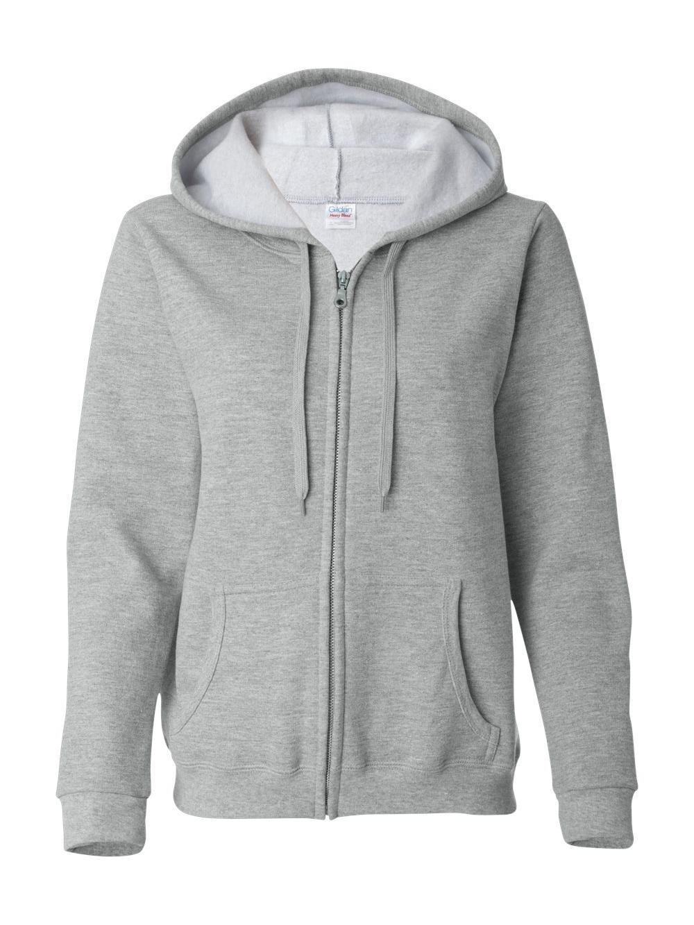 Gildan-Heavy-Blend-Women-039-s-Full-Zip-Hooded-Sweatshirt-18600FL thumbnail 12