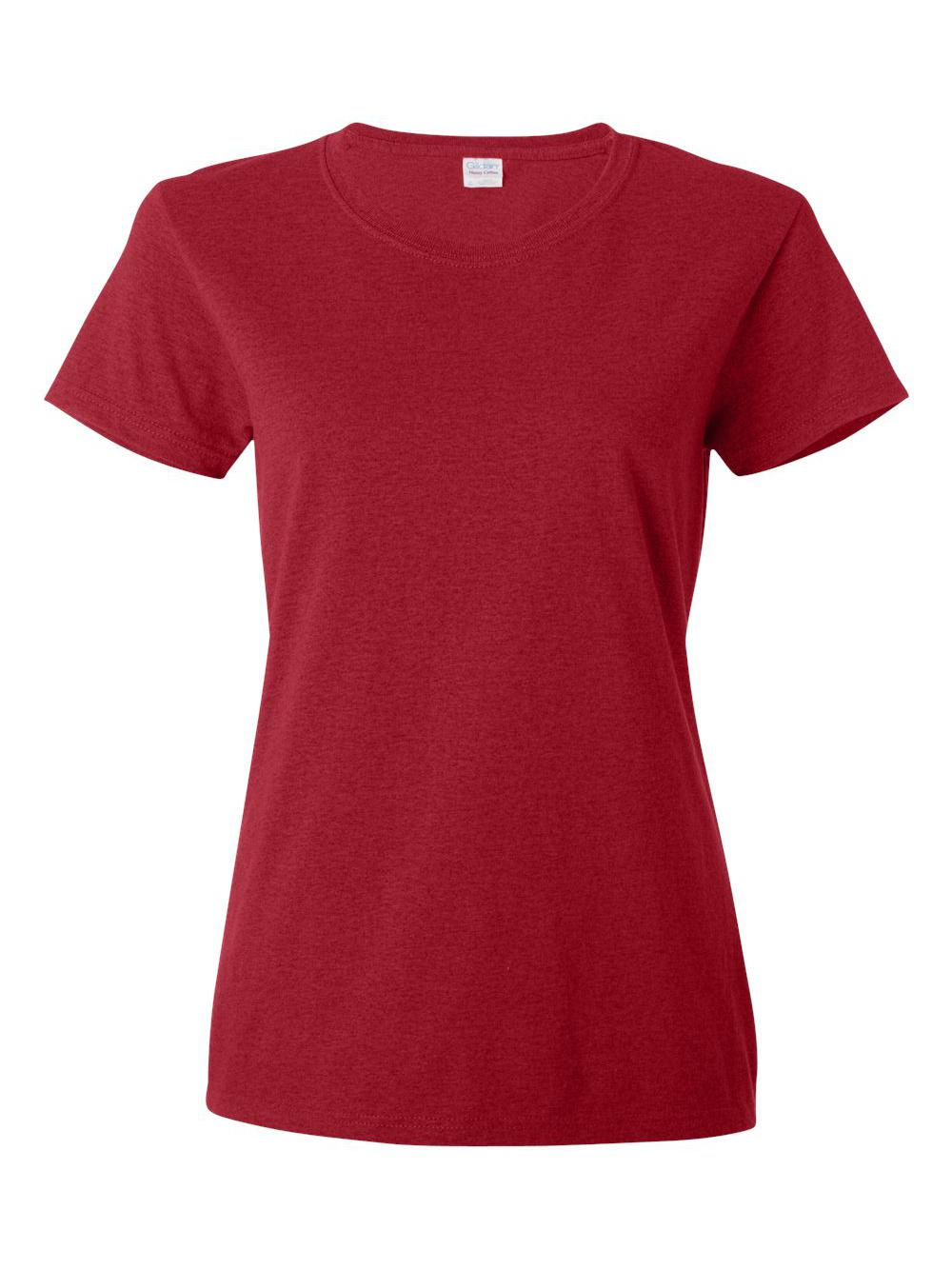 Gildan-Heavy-Cotton-Women-039-s-Short-Sleeve-T-Shirt-5000L thumbnail 3