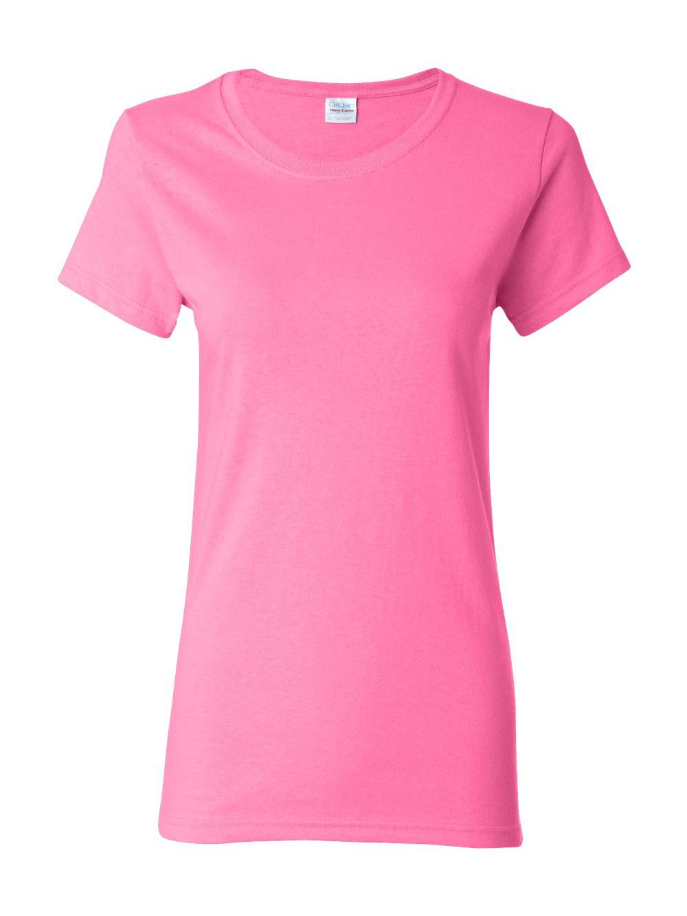 Gildan-Heavy-Cotton-Women-039-s-Short-Sleeve-T-Shirt-5000L thumbnail 12