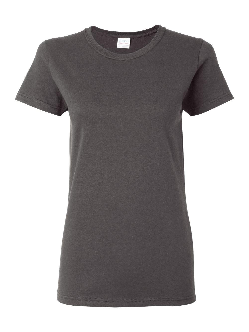 Gildan-Heavy-Cotton-Women-039-s-Short-Sleeve-T-Shirt-5000L thumbnail 24