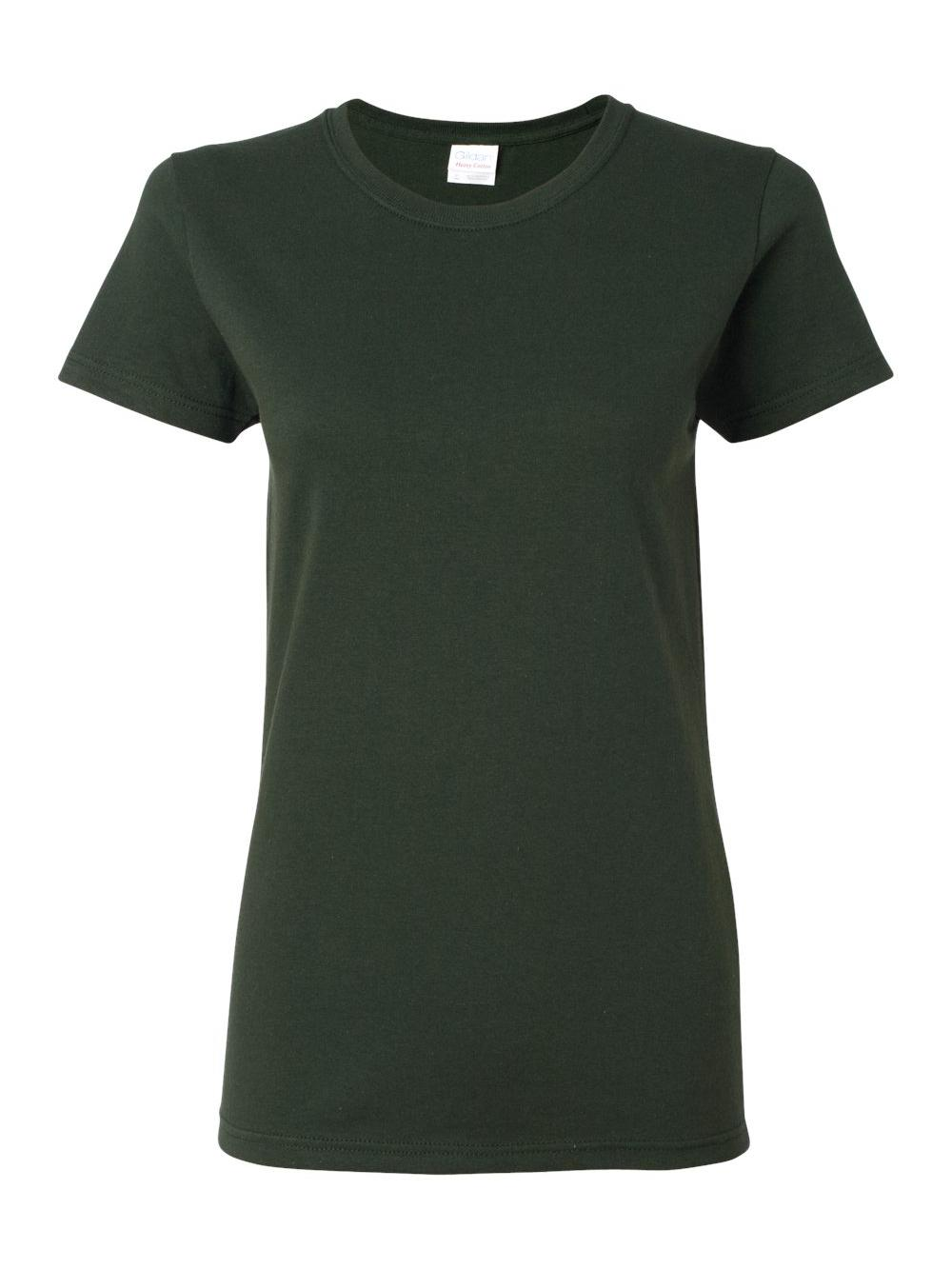 Gildan-Heavy-Cotton-Women-039-s-Short-Sleeve-T-Shirt-5000L thumbnail 39