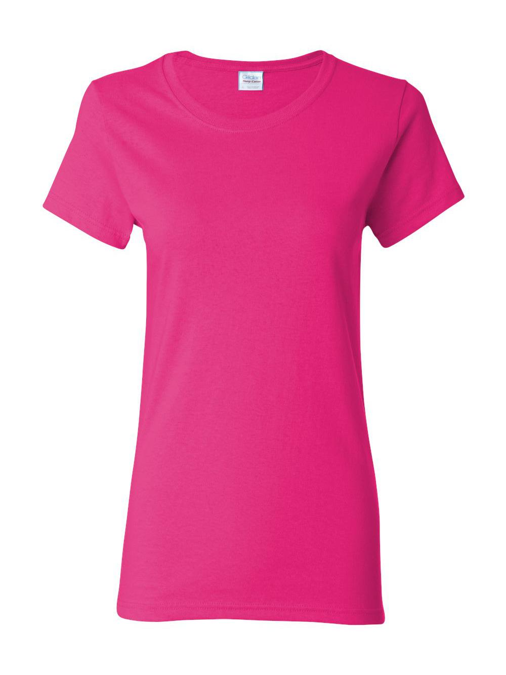 Gildan-Heavy-Cotton-Women-039-s-Short-Sleeve-T-Shirt-5000L thumbnail 57