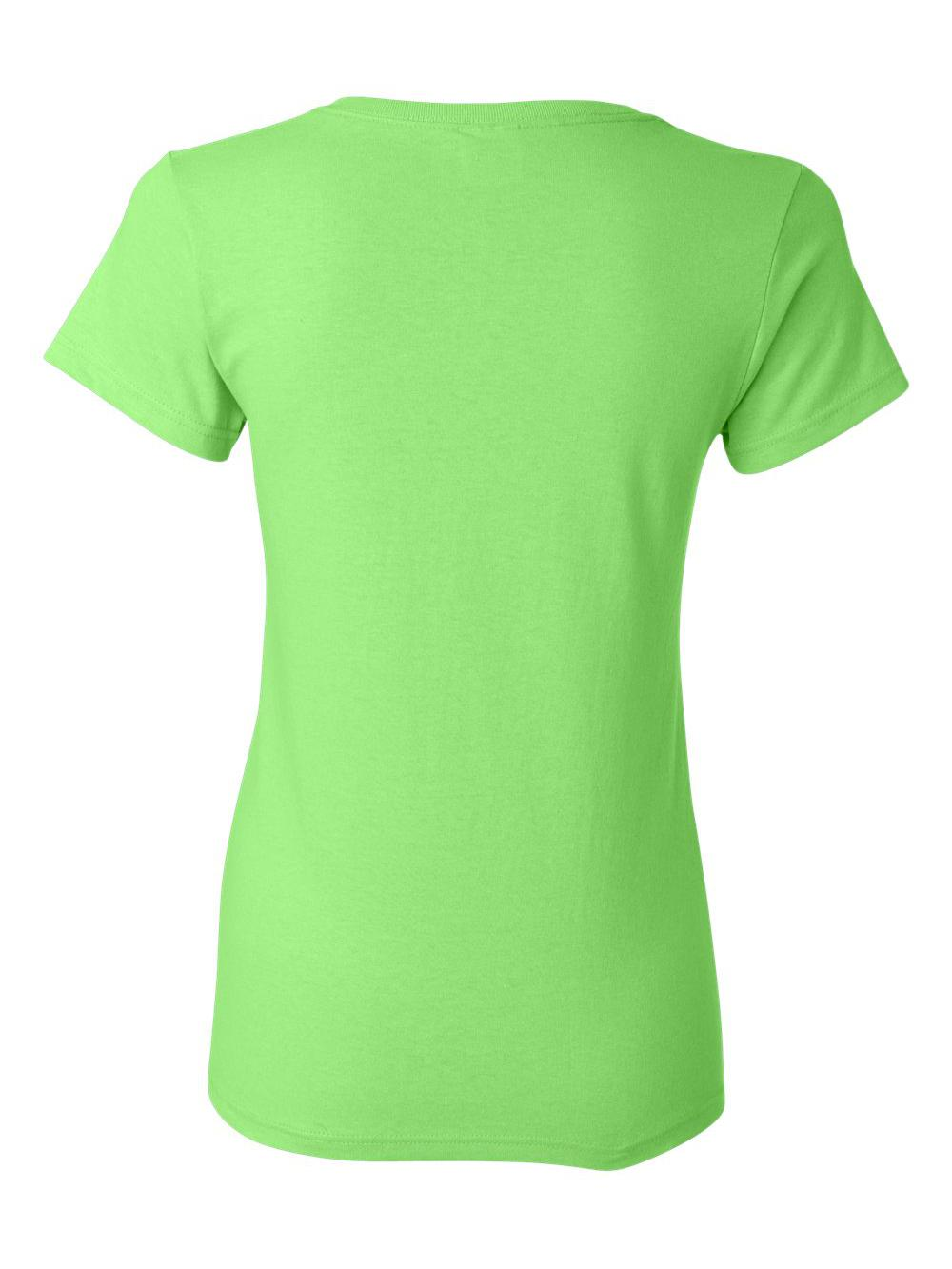 Gildan-Heavy-Cotton-Women-039-s-Short-Sleeve-T-Shirt-5000L thumbnail 76