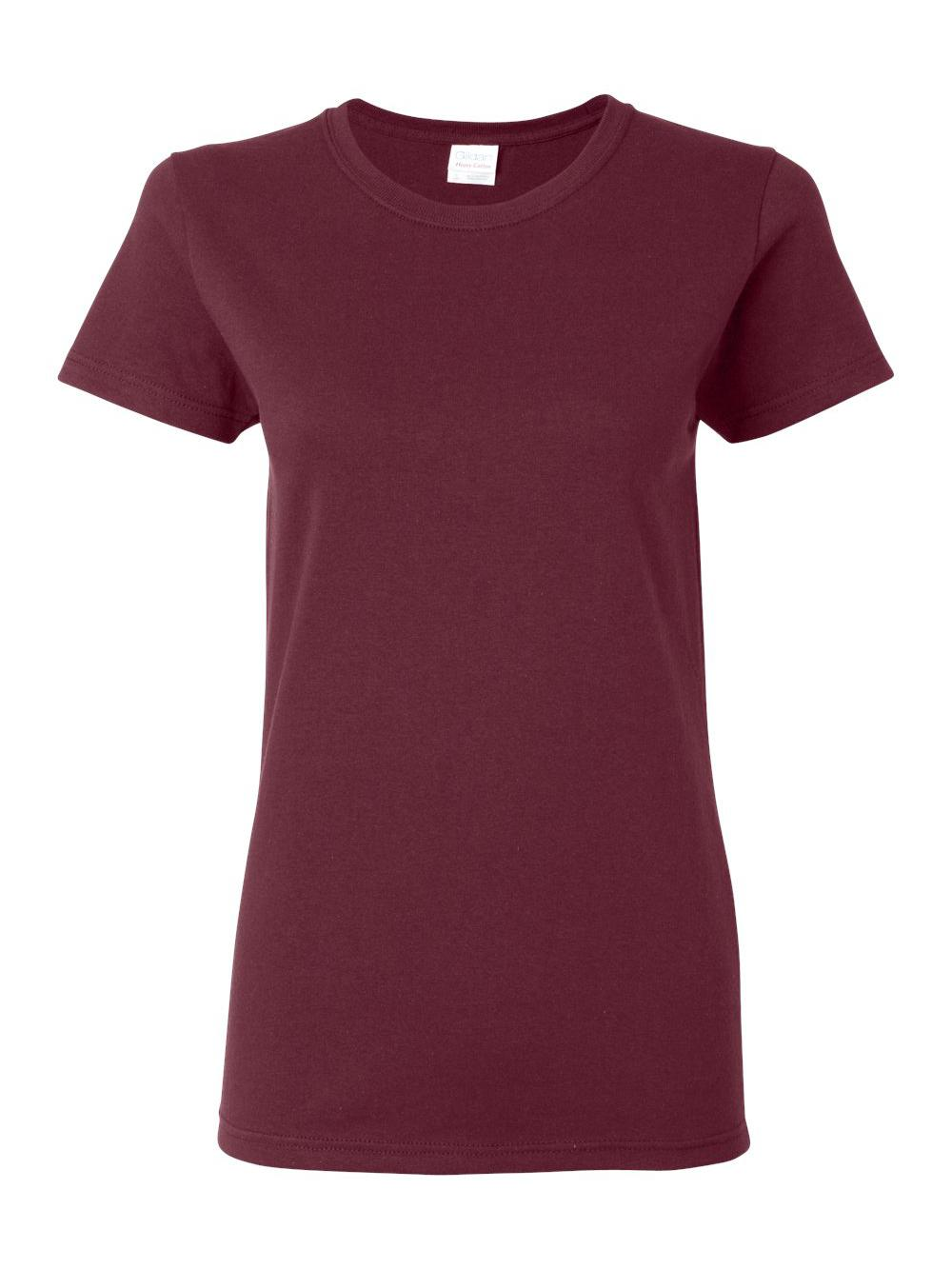 Gildan-Heavy-Cotton-Women-039-s-Short-Sleeve-T-Shirt-5000L thumbnail 75