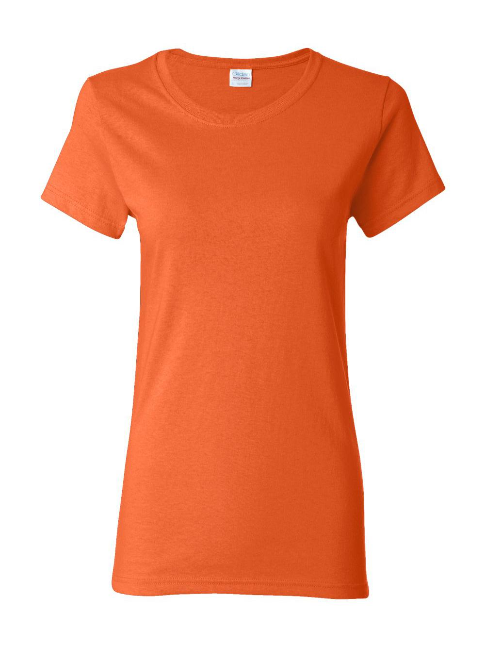 Gildan-Heavy-Cotton-Women-039-s-Short-Sleeve-T-Shirt-5000L thumbnail 84