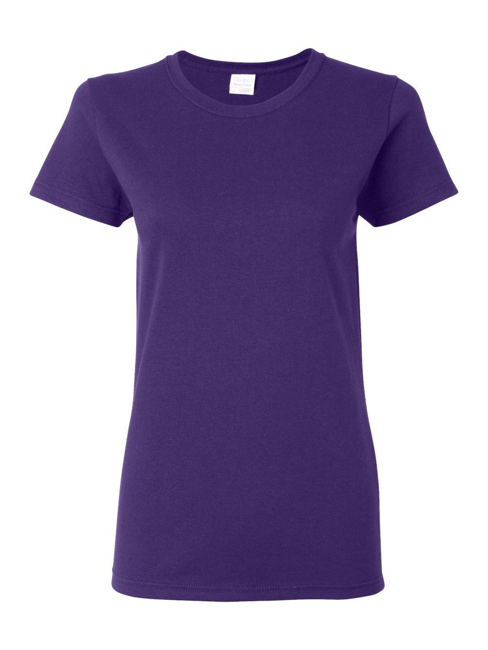 Gildan-Heavy-Cotton-Women-039-s-Short-Sleeve-T-Shirt-5000L thumbnail 87