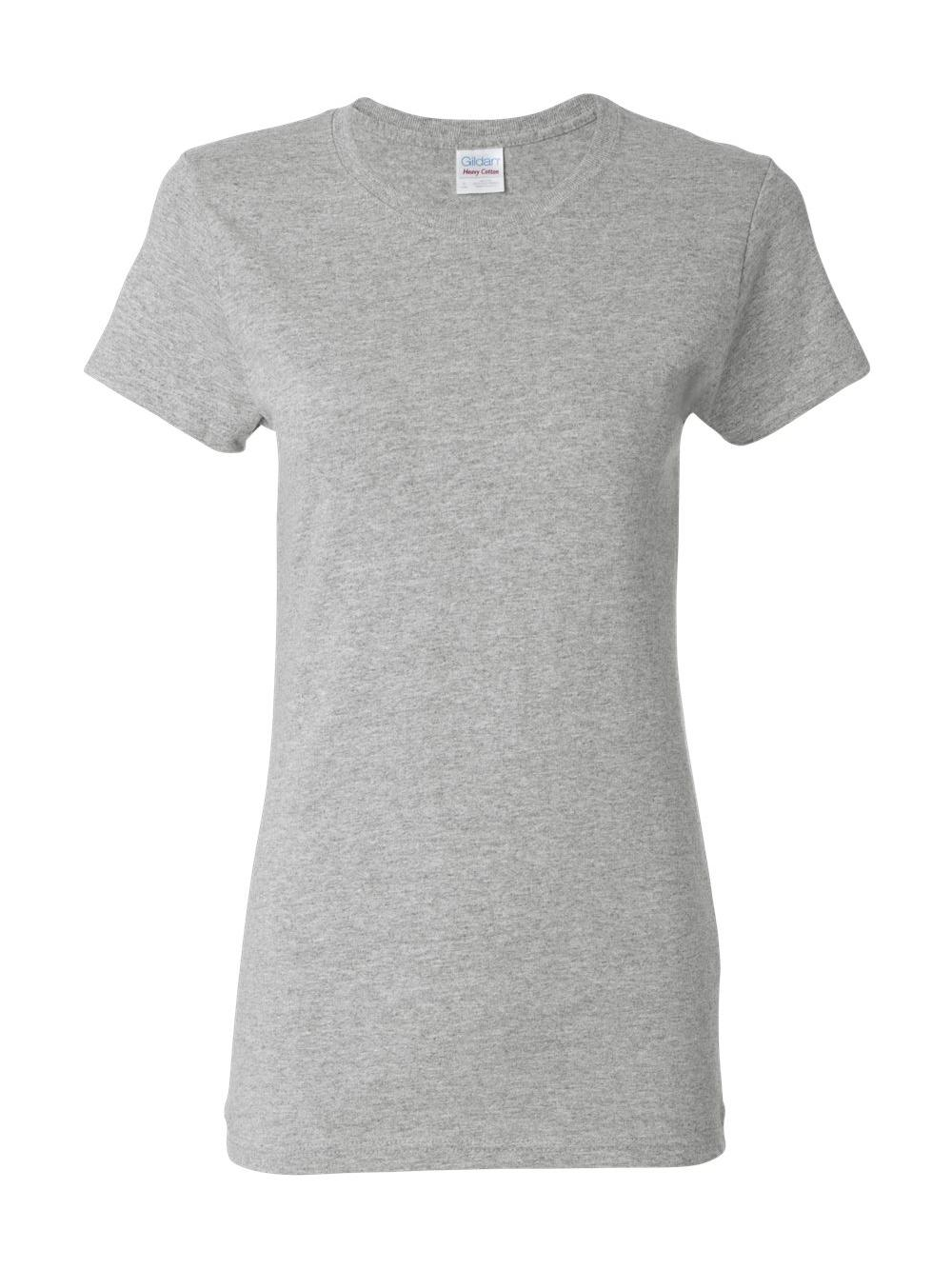 Gildan-Heavy-Cotton-Women-039-s-Short-Sleeve-T-Shirt-5000L thumbnail 111