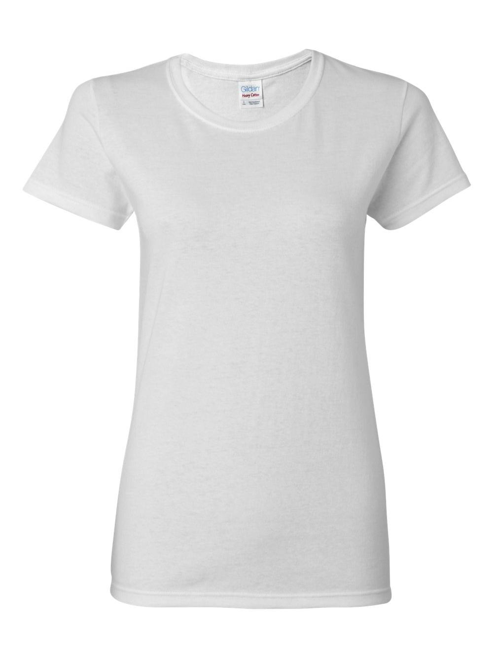 Gildan-Heavy-Cotton-Women-039-s-Short-Sleeve-T-Shirt-5000L thumbnail 121
