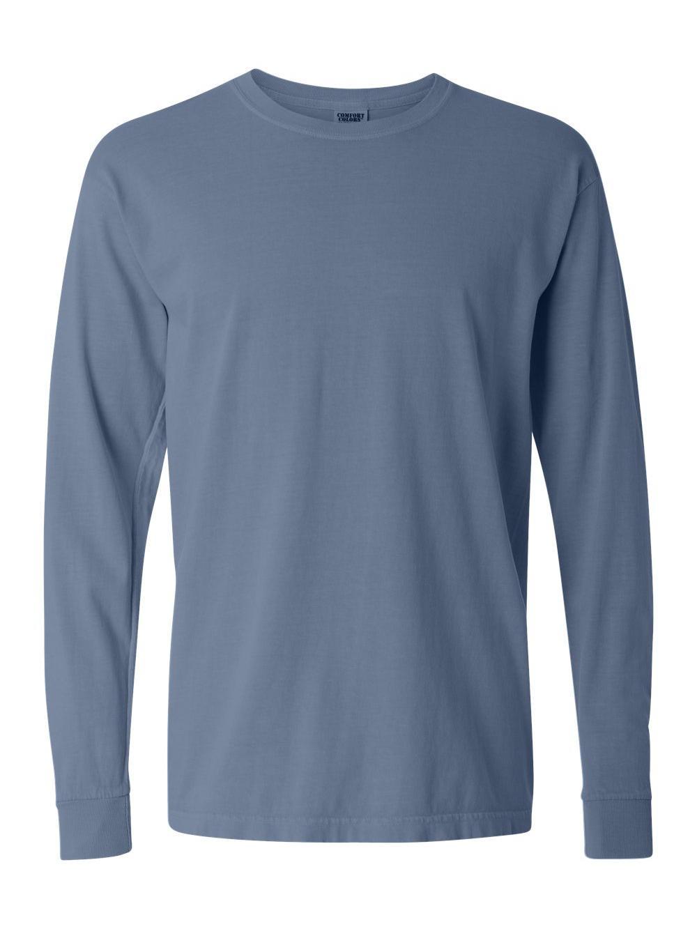 Comfort-Colors-Garment-Dyed-Heavyweight-Ringspun-Long-Sleeve-T-Shirt-6014 thumbnail 12