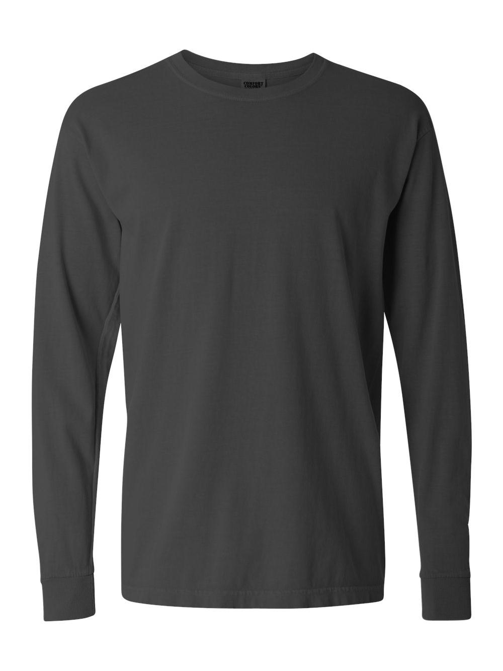 Comfort-Colors-Garment-Dyed-Heavyweight-Ringspun-Long-Sleeve-T-Shirt-6014 thumbnail 57