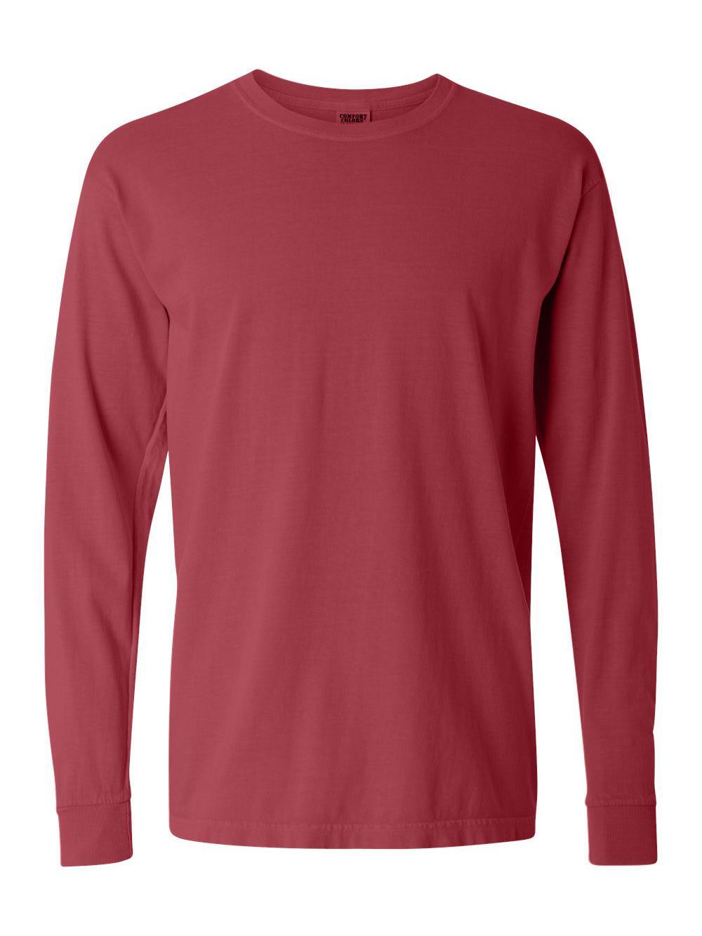 Comfort-Colors-Garment-Dyed-Heavyweight-Ringspun-Long-Sleeve-T-Shirt-6014 thumbnail 30