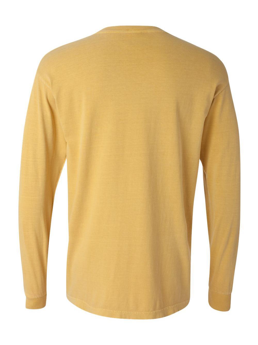 Comfort-Colors-Garment-Dyed-Heavyweight-Ringspun-Long-Sleeve-T-Shirt-6014 thumbnail 55