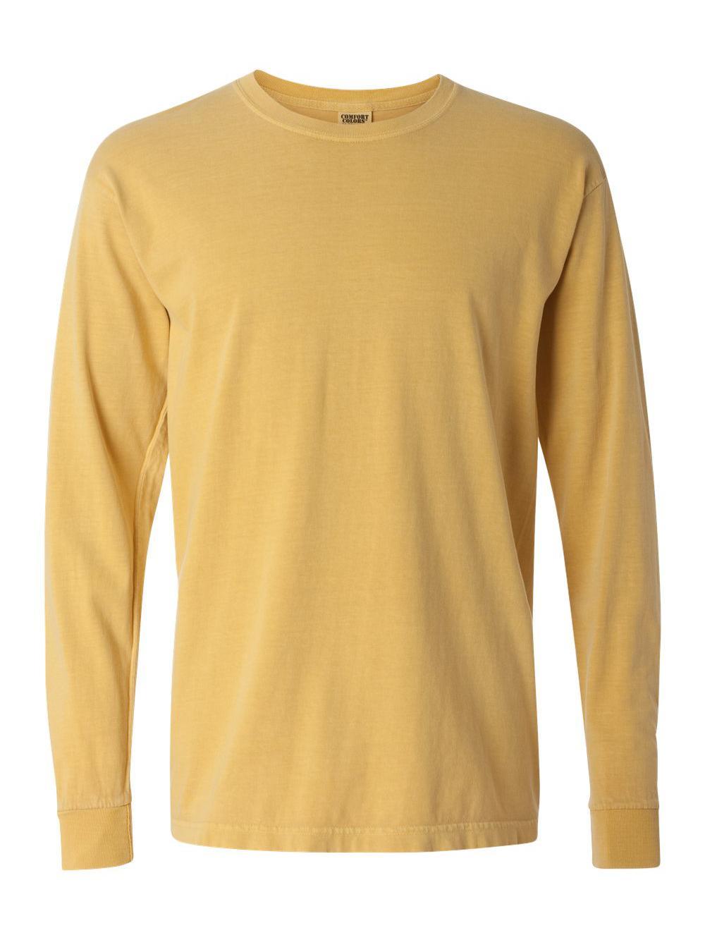 Comfort-Colors-Garment-Dyed-Heavyweight-Ringspun-Long-Sleeve-T-Shirt-6014 thumbnail 54