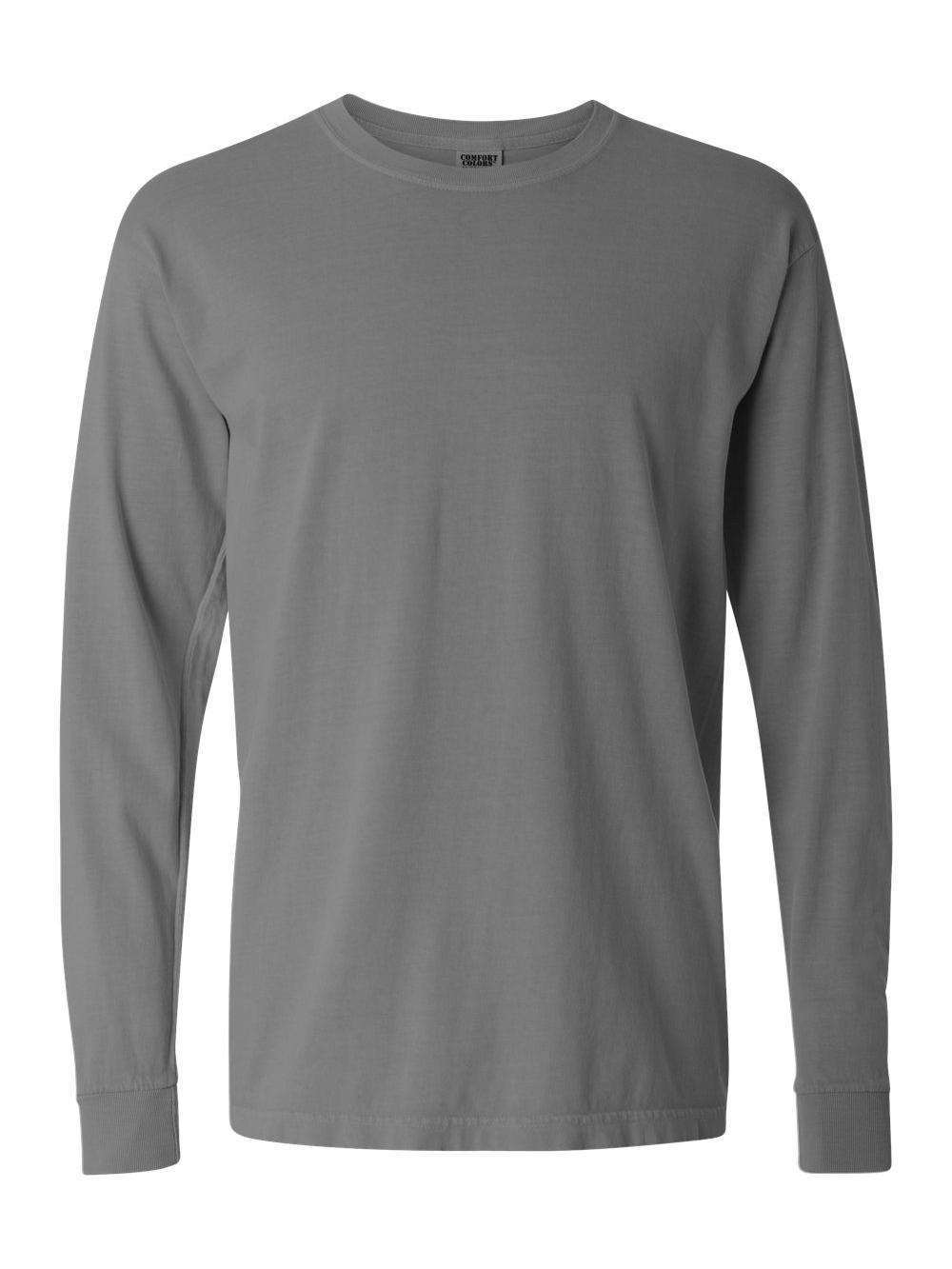 Comfort-Colors-Garment-Dyed-Heavyweight-Ringspun-Long-Sleeve-T-Shirt-6014 thumbnail 36