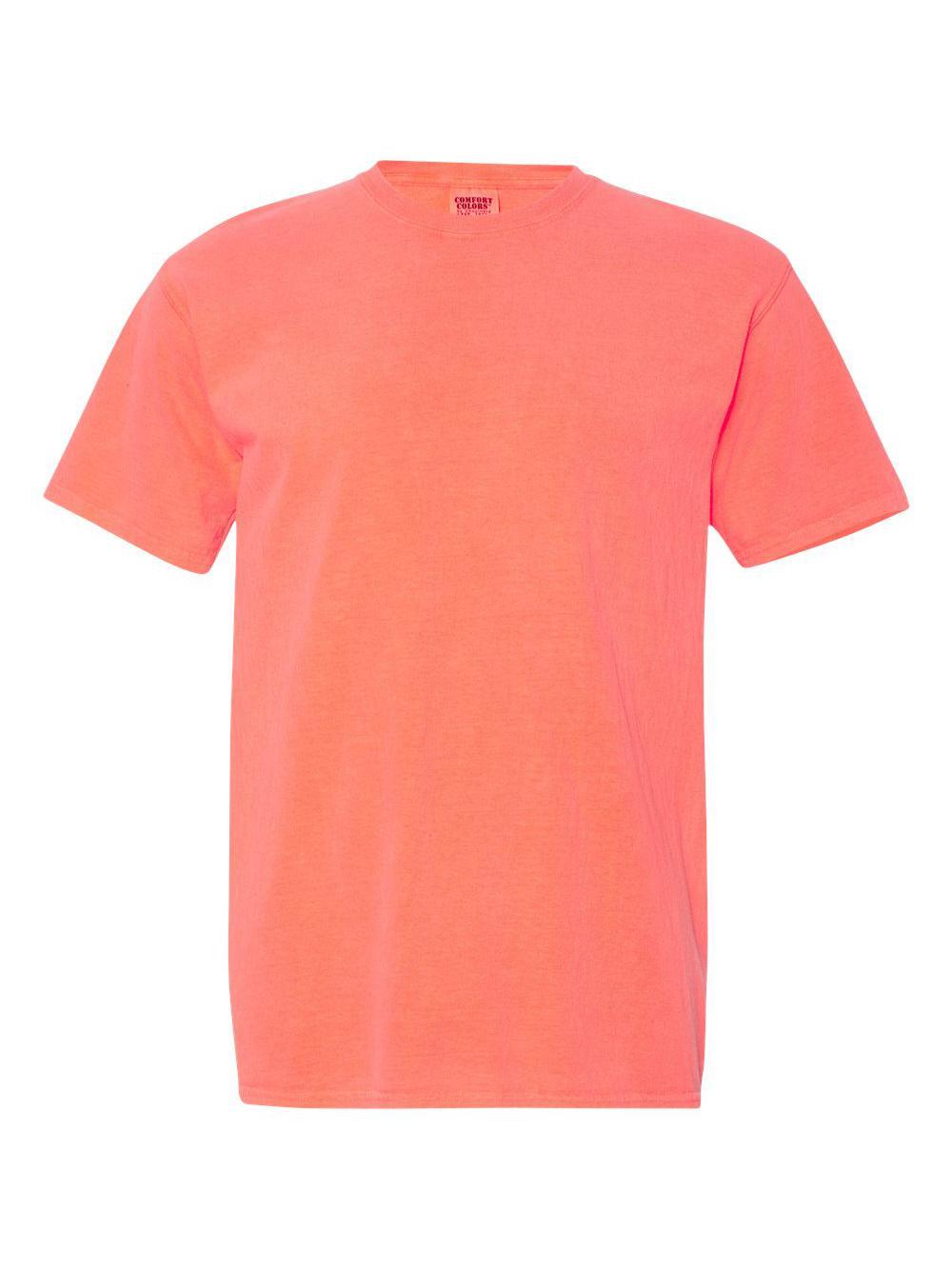 Comfort-Colors-Garment-Dyed-Heavyweight-Ringspun-Short-Sleeve-Shirt-1717 thumbnail 99