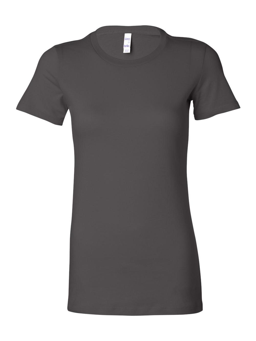 Bella-Canvas-Women-039-s-The-Favorite-Tee-6004 thumbnail 6