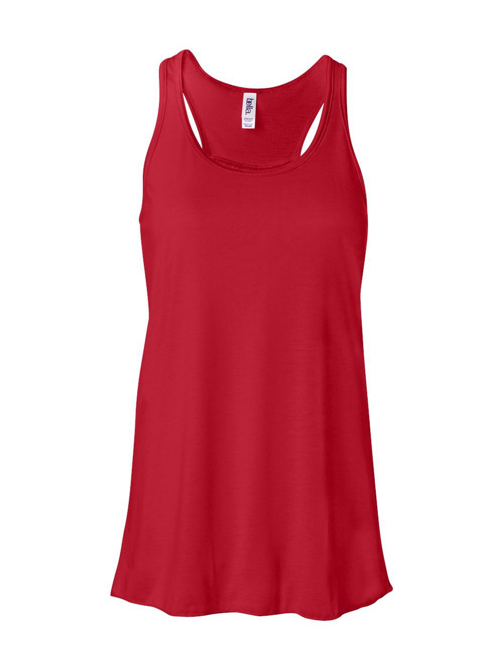 Bella-Canvas-Women-039-s-Flowy-Racerback-Tank-8800 thumbnail 81