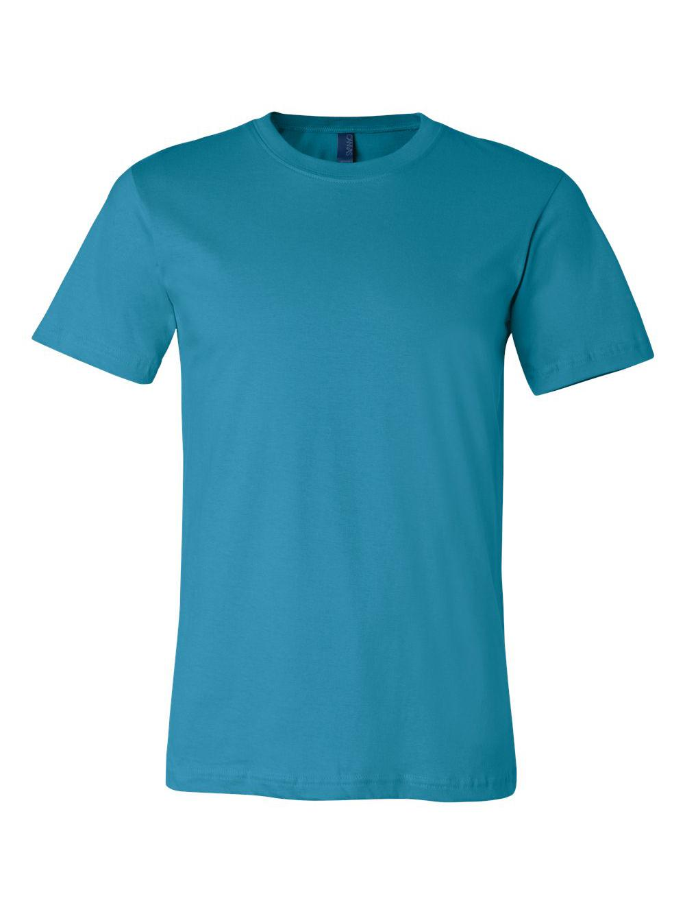 Bella-Canvas-Unisex-Short-Sleeve-Jersey-Tee-3001 thumbnail 3