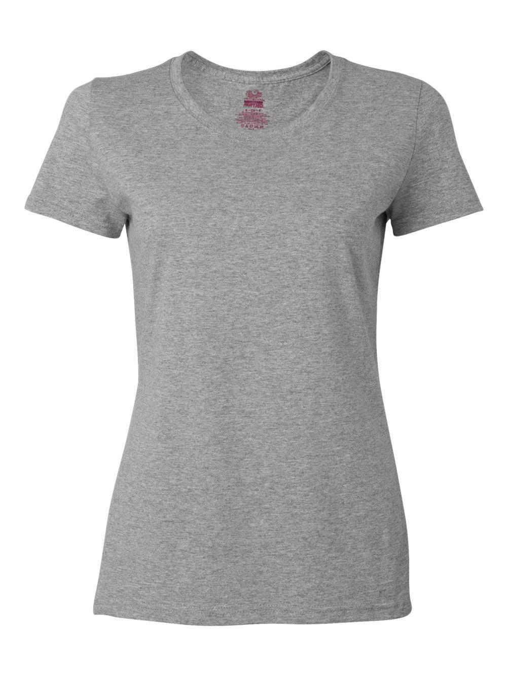 Fruit-of-the-Loom-HD-Cotton-Women-039-s-Short-Sleeve-T-Shirt-L3930R thumbnail 3