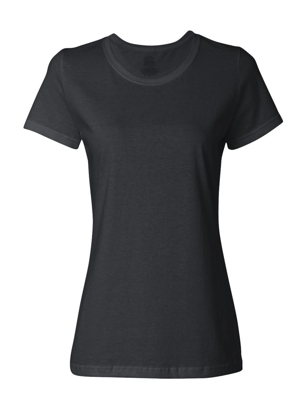Fruit-of-the-Loom-HD-Cotton-Women-039-s-Short-Sleeve-T-Shirt-L3930R thumbnail 6