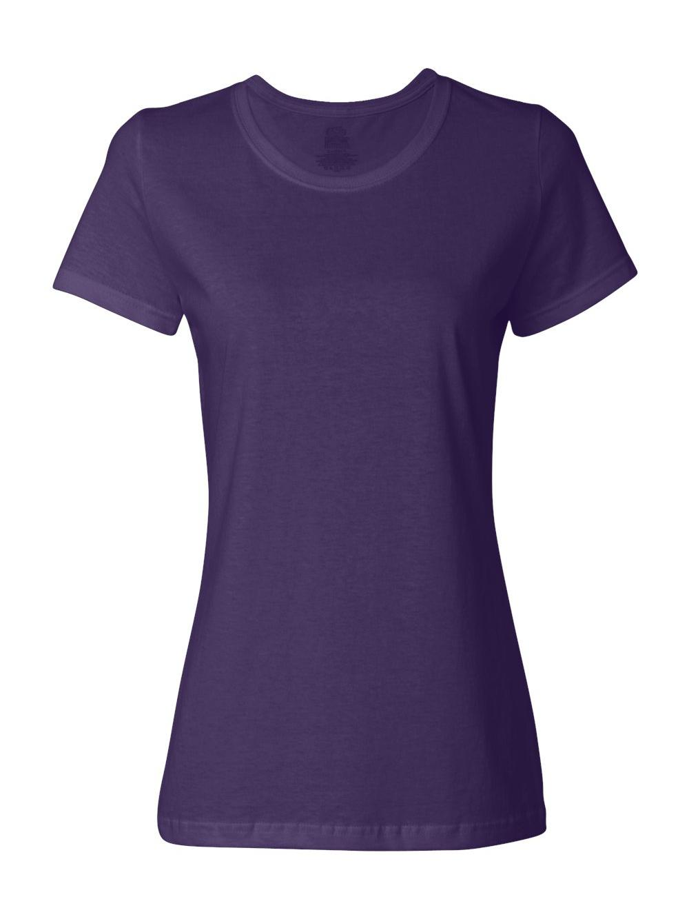 Fruit-of-the-Loom-HD-Cotton-Women-039-s-Short-Sleeve-T-Shirt-L3930R thumbnail 21