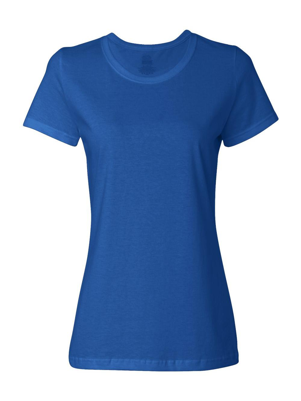 Fruit-of-the-Loom-HD-Cotton-Women-039-s-Short-Sleeve-T-Shirt-L3930R thumbnail 33