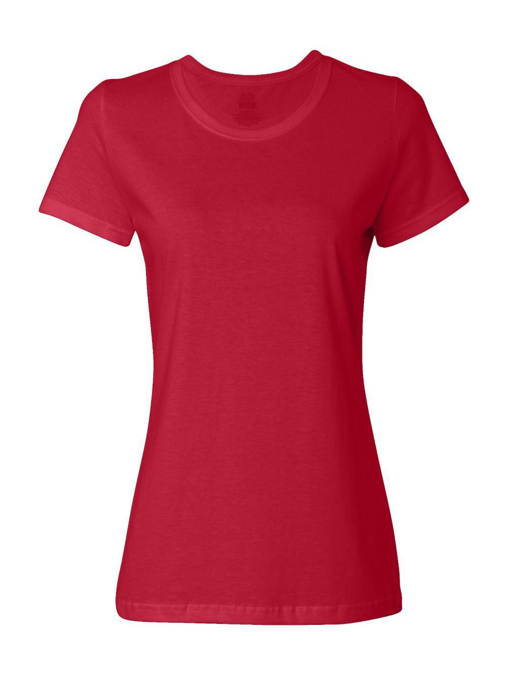 Fruit-of-the-Loom-HD-Cotton-Women-039-s-Short-Sleeve-T-Shirt-L3930R thumbnail 36