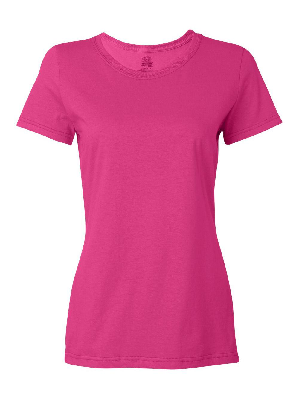 Fruit-of-the-Loom-HD-Cotton-Women-039-s-Short-Sleeve-T-Shirt-L3930R thumbnail 12