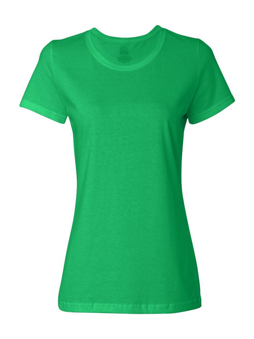 Fruit-of-the-Loom-HD-Cotton-Women-039-s-Short-Sleeve-T-Shirt-L3930R thumbnail 18