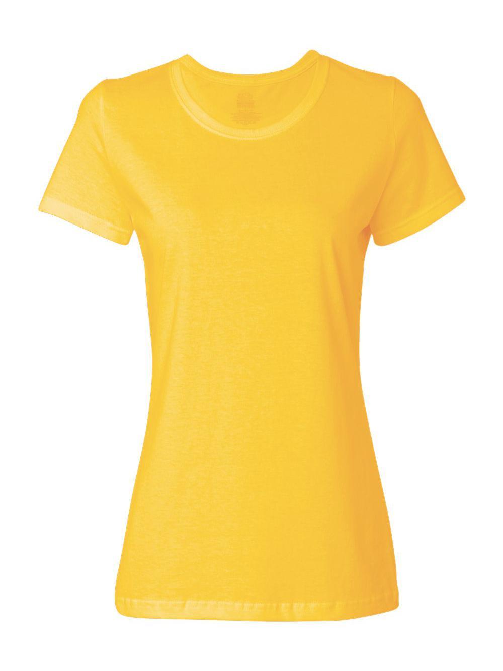 Fruit-of-the-Loom-HD-Cotton-Women-039-s-Short-Sleeve-T-Shirt-L3930R thumbnail 42
