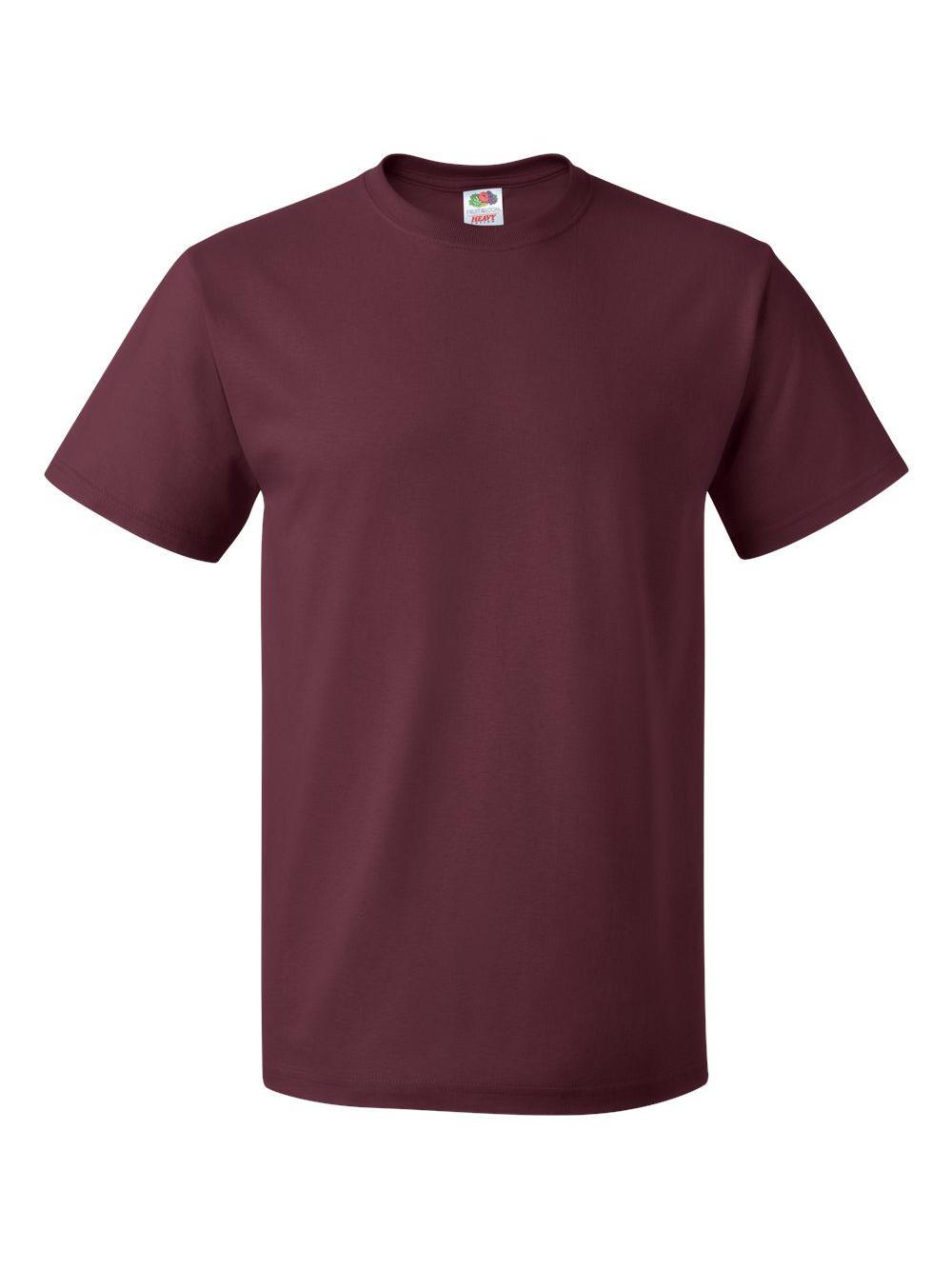 Fruit-of-the-Loom-HD-Cotton-Short-Sleeve-T-Shirt-3930R thumbnail 75