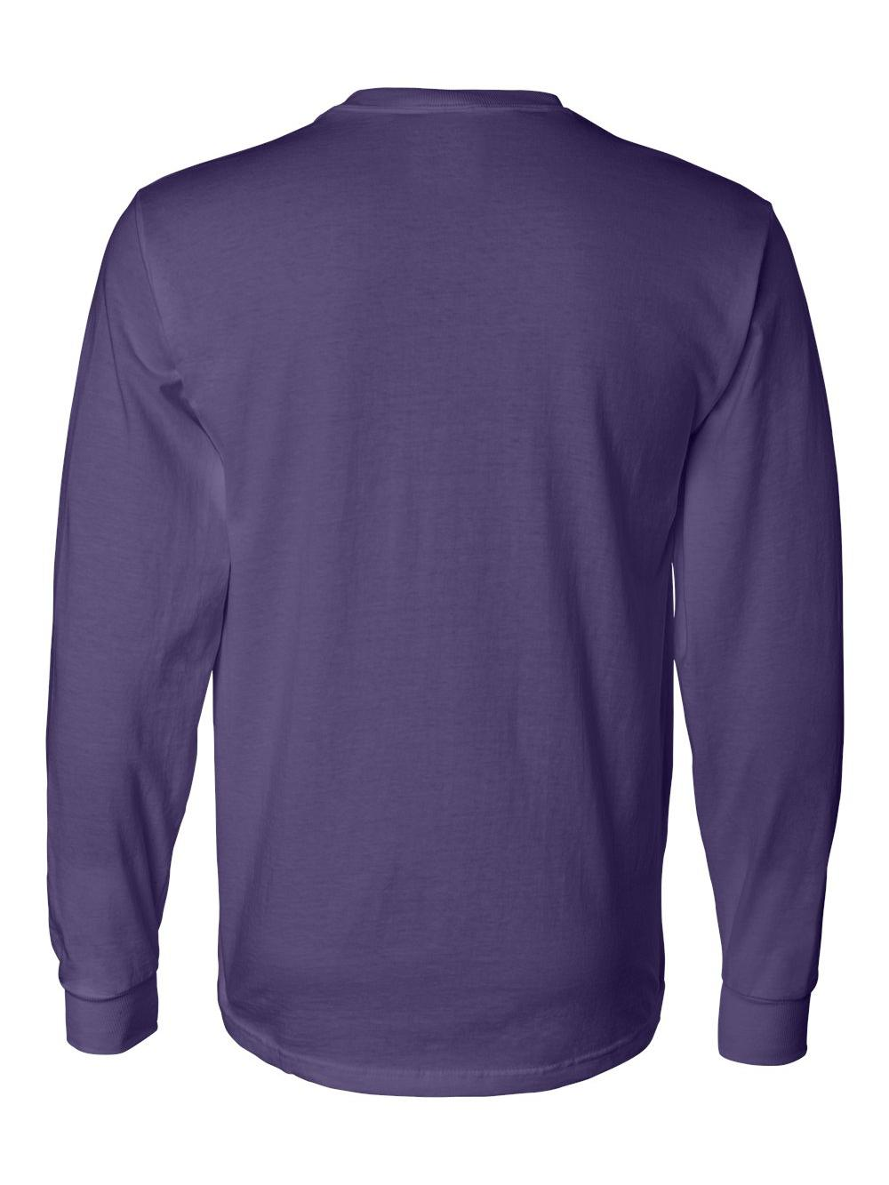 Fruit-of-the-Loom-HD-Cotton-Long-Sleeve-T-Shirt-4930R thumbnail 58