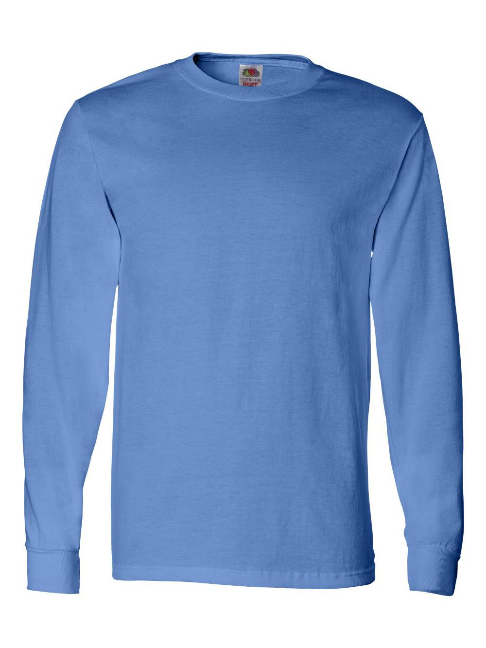 Fruit-of-the-Loom-HD-Cotton-Long-Sleeve-T-Shirt-4930R thumbnail 27