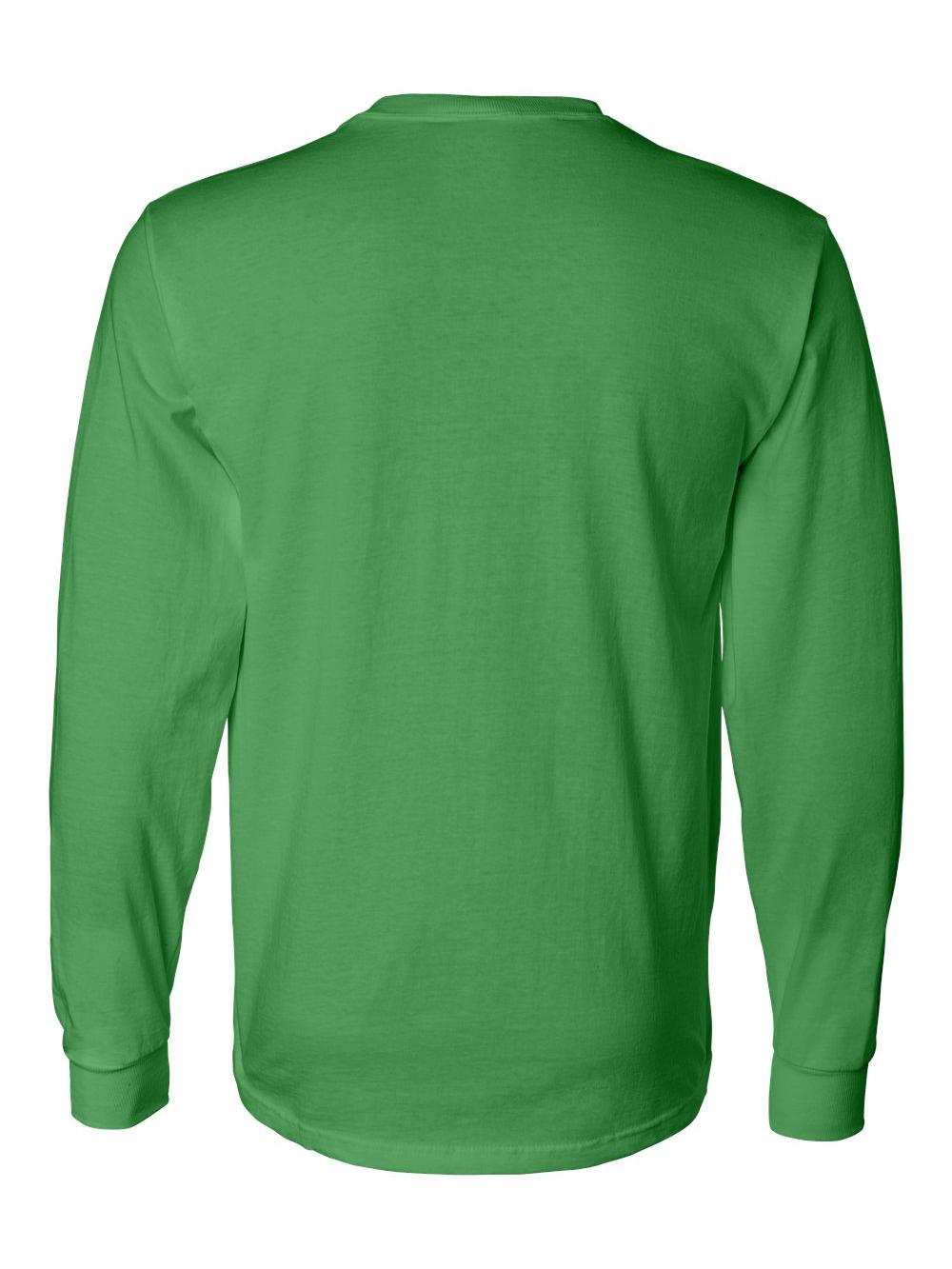 Fruit-of-the-Loom-HD-Cotton-Long-Sleeve-T-Shirt-4930R thumbnail 40