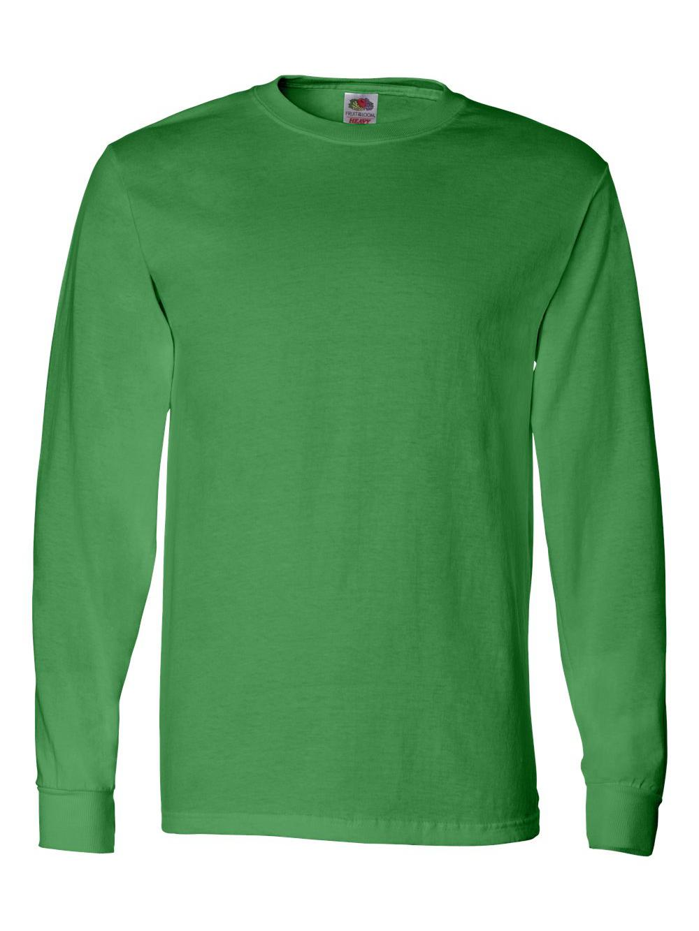 Fruit-of-the-Loom-HD-Cotton-Long-Sleeve-T-Shirt-4930R thumbnail 39