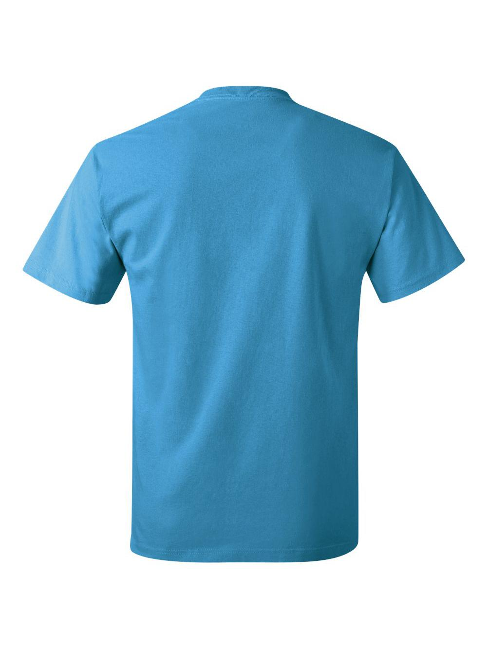 Hanes-Tagless-T-Shirt-5250 thumbnail 109