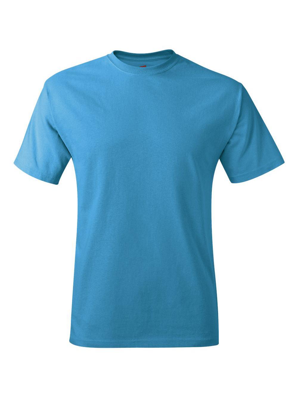 Hanes-Tagless-T-Shirt-5250 thumbnail 108