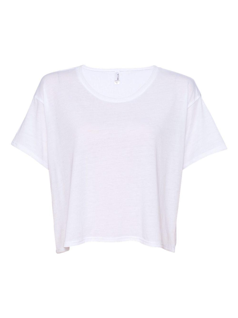 Bella-Canvas-Women-039-s-Flowy-Boxy-Tee-8881 thumbnail 12