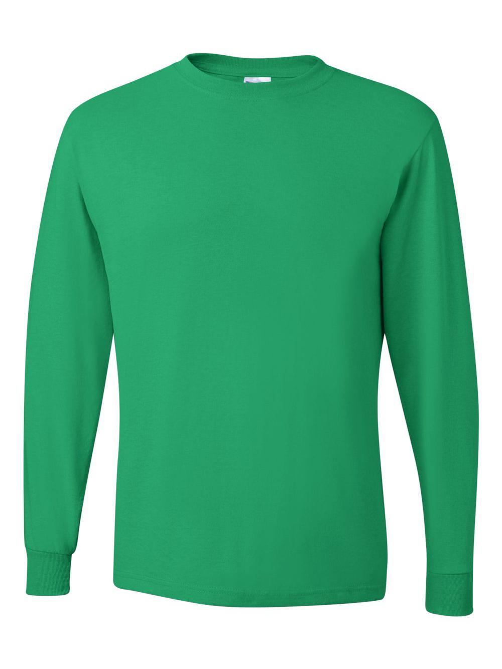 Jerzees-Dri-Power-Long-Sleeve-50-50-T-Shirt-29LSR thumbnail 48