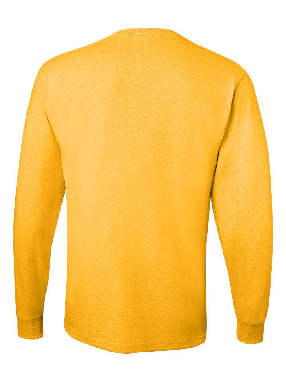 Jerzees-Dri-Power-Long-Sleeve-50-50-T-Shirt-29LSR thumbnail 43